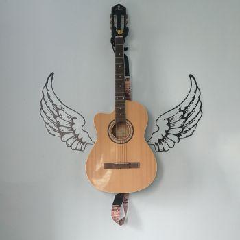 عکس پروفایل گیتار الکتریک بالدار خاص و شیک