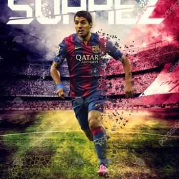 عکس پروفایل سوارز بارسلونا فوتبالی زیبا