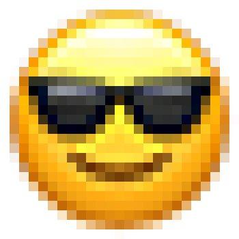 عکس پروفایل ایموجی شیک و باکلاس با عینک آفتابی
