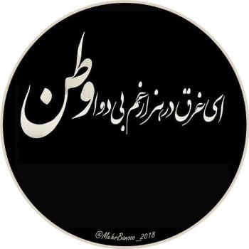 عکس پروفایل ای غرق در هزار غم بی دوا وطن