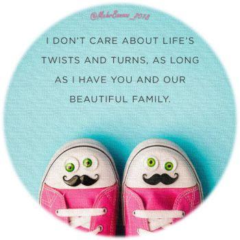 عکس پروفایل انگلیسی درباره اهمیت خانواده