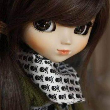 عکس پروفایل عروسکی دخترونه فانتزی قشنگ بامزه