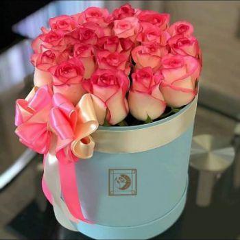 عکس پروفایل دسته گل های رز صورتی زیبا