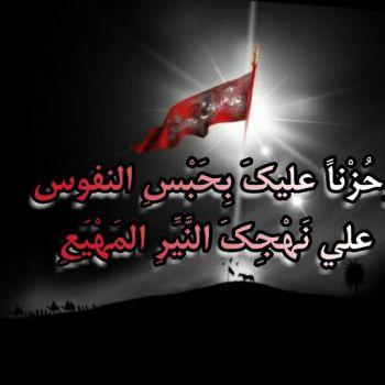 عکس پروفایل دعا محرم امام الحسین علیه السلام