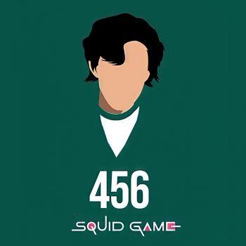 عکس پروفایل بازی مرکب Squid Game بازیکن سبز 456