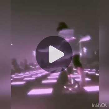 فیلم پروفایل اسکیت در جاده نورانی مهتابی