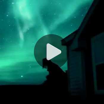 فیلم پروفایل شب مهتابی نورانی دخترانه