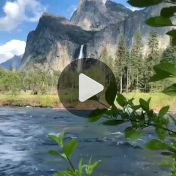فیلم پروفایل جریان رودخانه با طبیعت زیبا