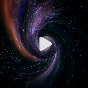 فیلم پروفایل کهکشان فضایی عجیب